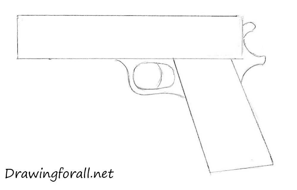 How To Draw A Guns