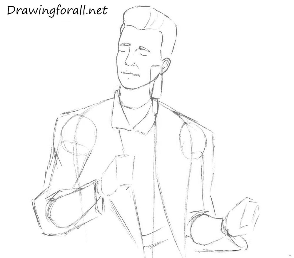 How to Draw Rick Roll