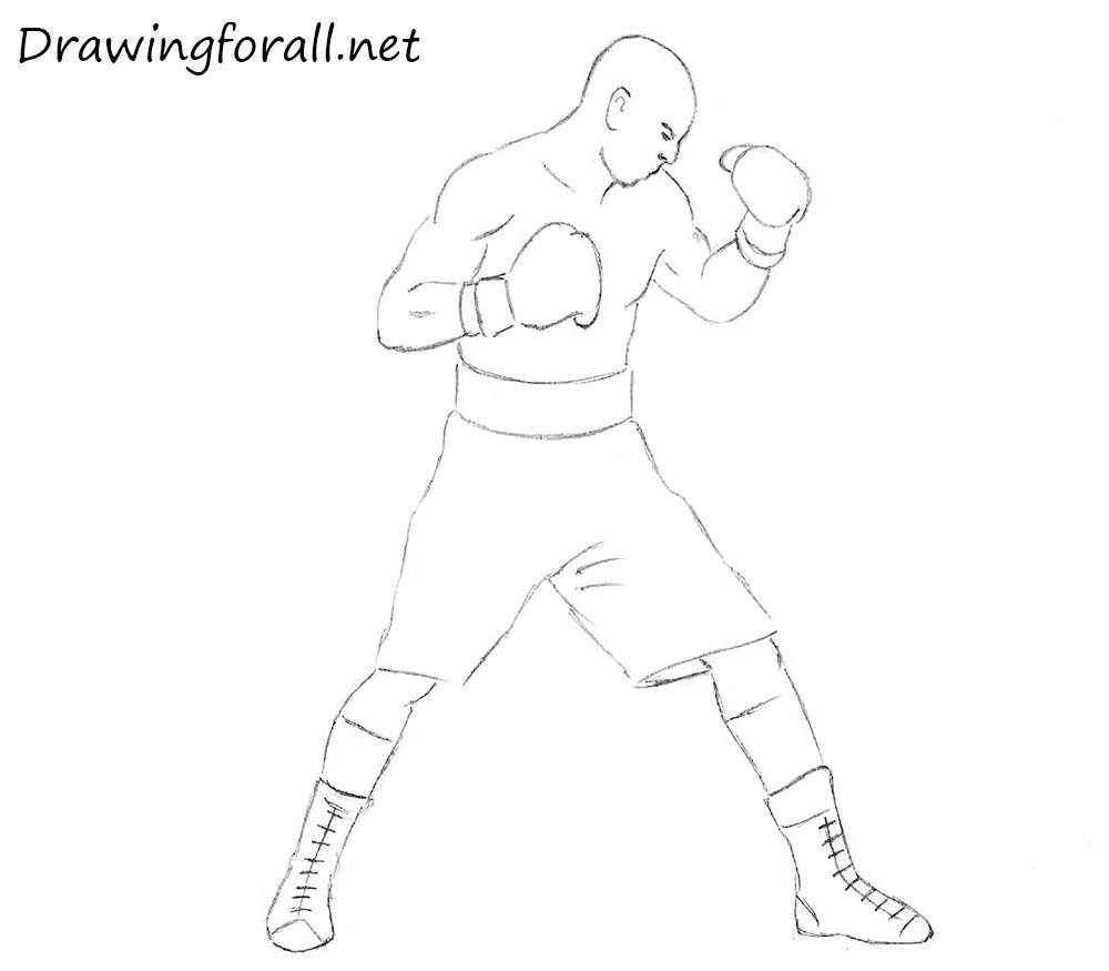 How To Draw A Knight · How To Draw A Boxer For Beginners