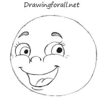 How to Draw Kolobok