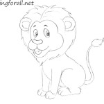 How to Draw a Lion for Kids