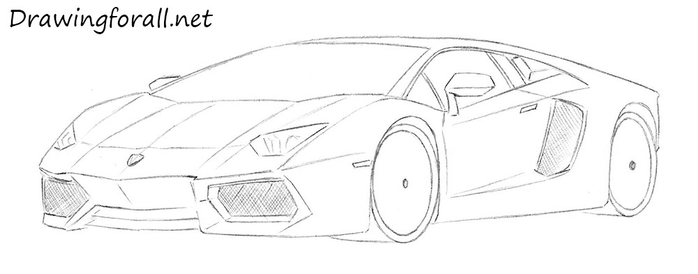 How to Draw a Lamborghini | DrawingForAll.net