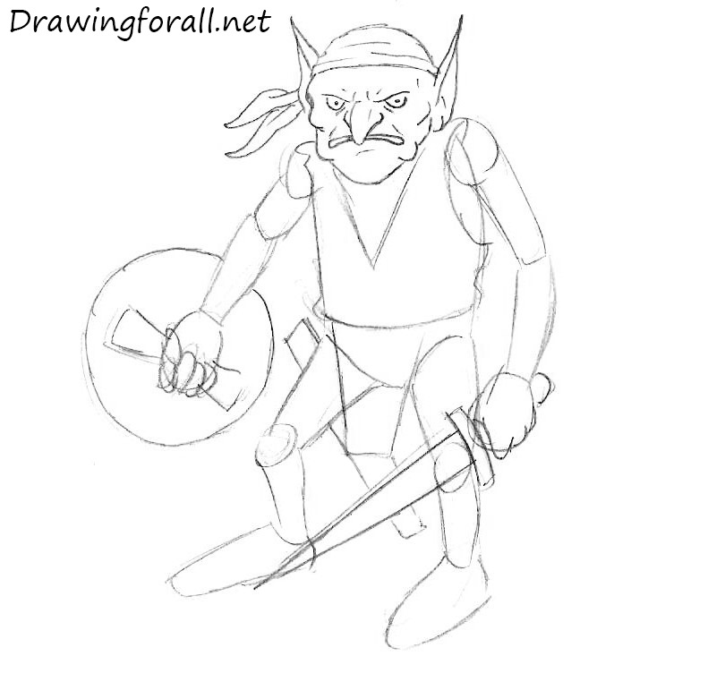 Goblin drawing