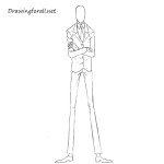 How to Draw Slenderman