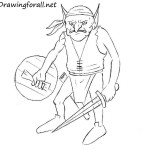 How to Draw a Goblin for Beginners