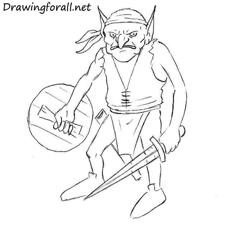 9-How-to-Draw-a-Goblin-for-beginners
