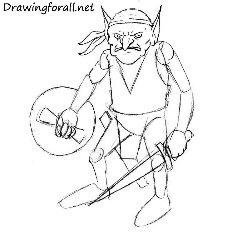 Goblin-drawing