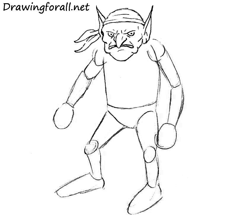 How-to-Draw-a-Goblin-step-by-step
