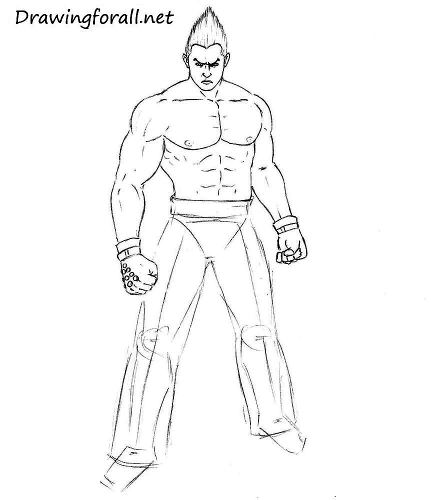 How to draw clenched fist