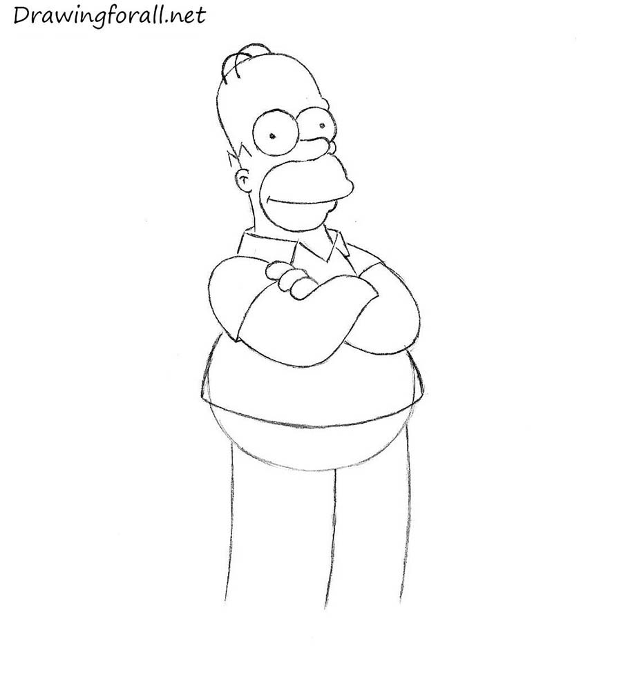 how to draw simpson