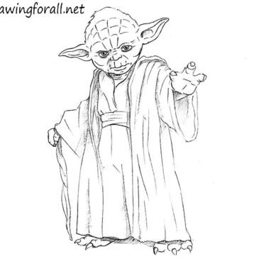 How to Draw Yoda Step by Step