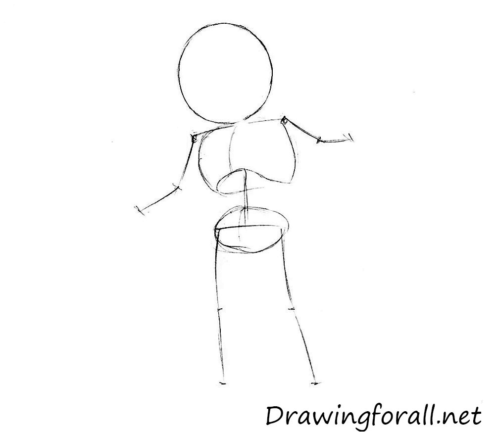 how_to_draw_youda_step_by_step