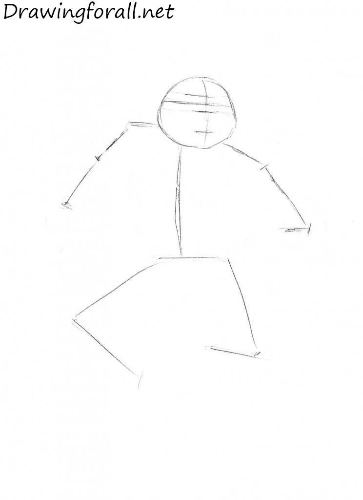 how to draw leonardo
