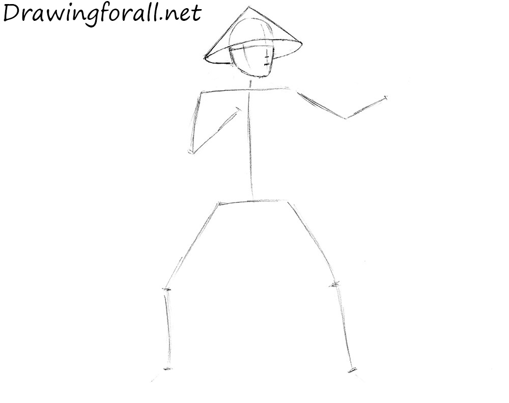 how to draw raiden