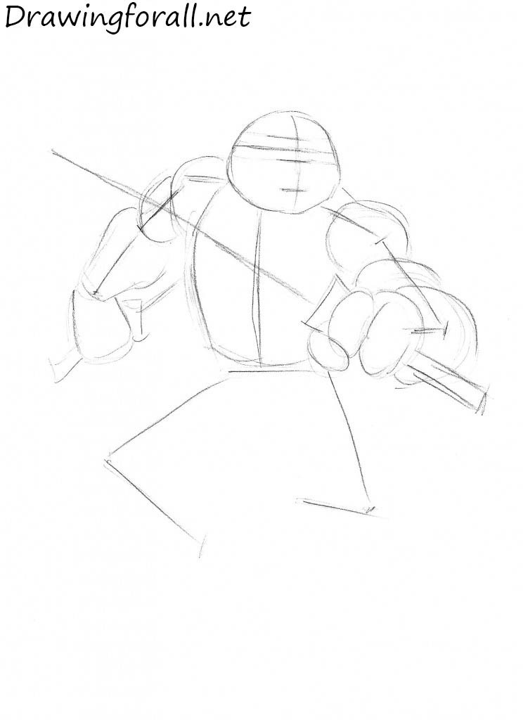 how to draw teenage mutant ninja turtles