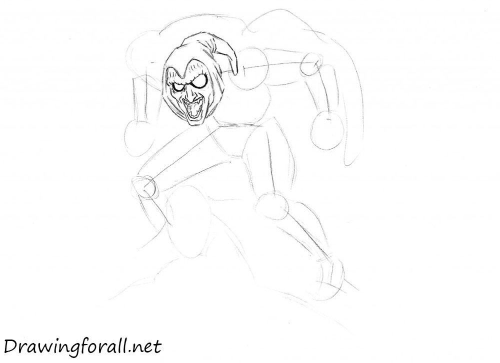 how to draw hobgoblin from marvel
