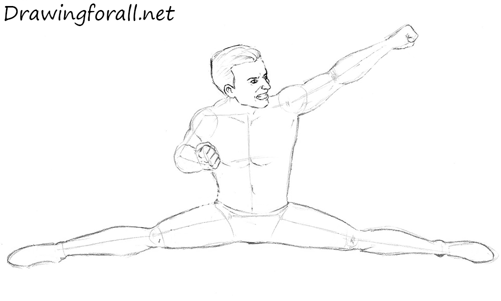 How to Draw Johnny Cage from mkx