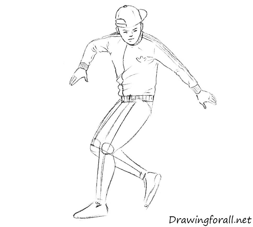 how to draw street sport