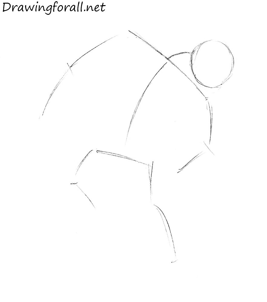 how to draw an ogre step by step