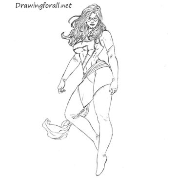 How to Draw Ms. Marvel