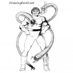 How to Draw Doctor Octopus
