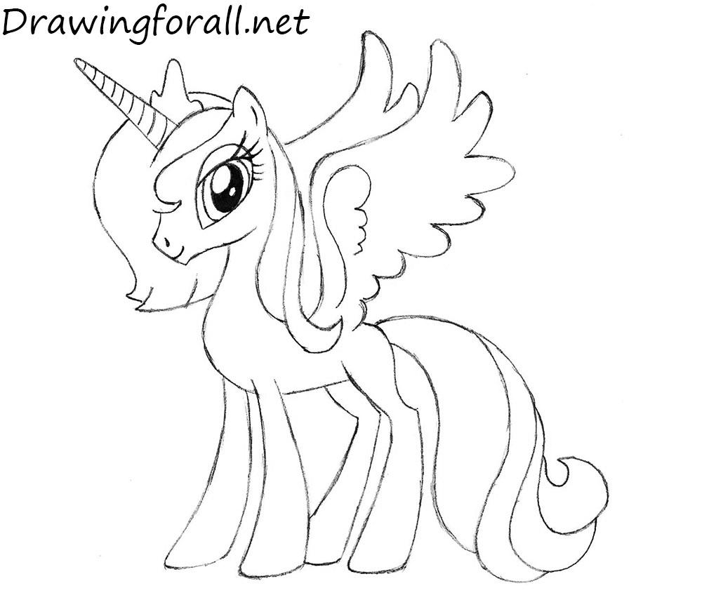 Princess Luna  drawing