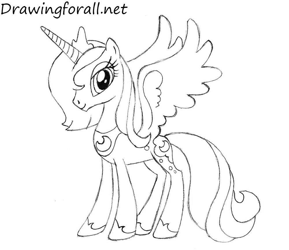 How to draw a princess 69