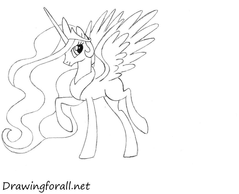 celestia pony