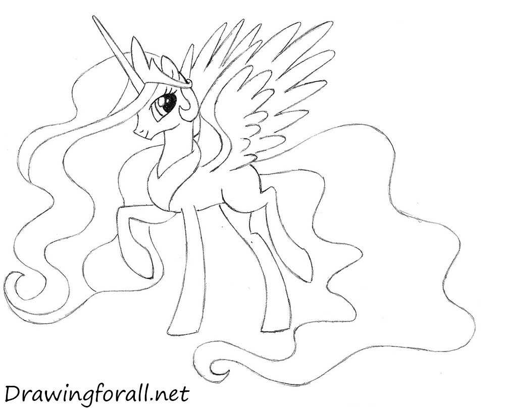 celestia my little pony
