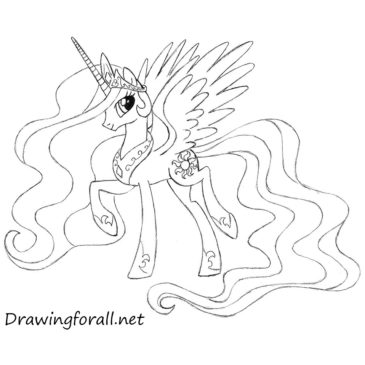 How to Draw Princess Celestia