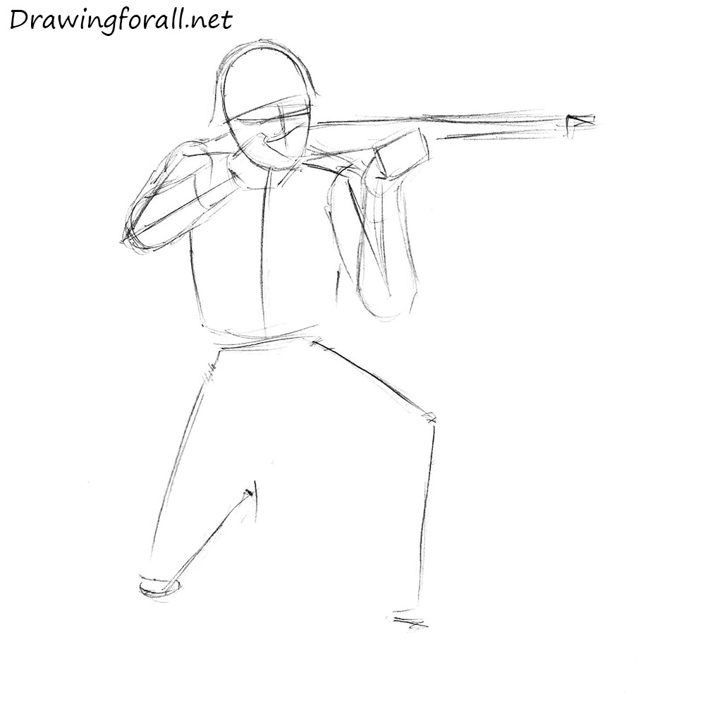 how to draw a soviet soldier