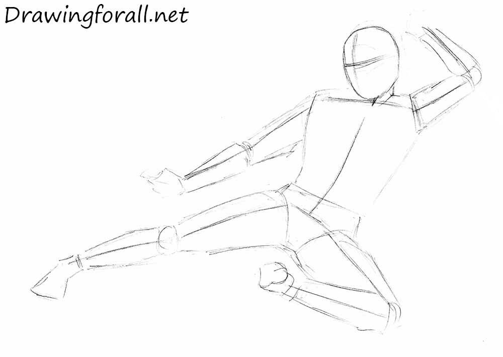 ninja drawing