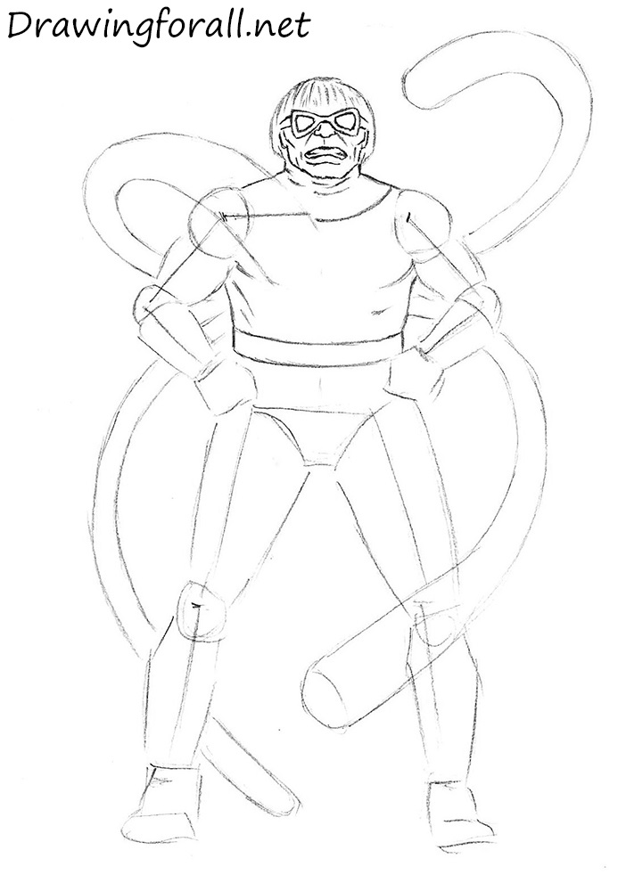 Doctor Octavius drawing