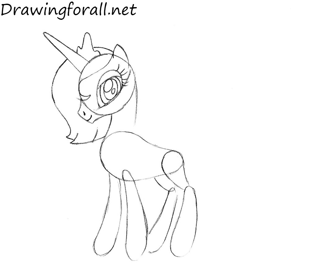 How to Draw Princess Luna