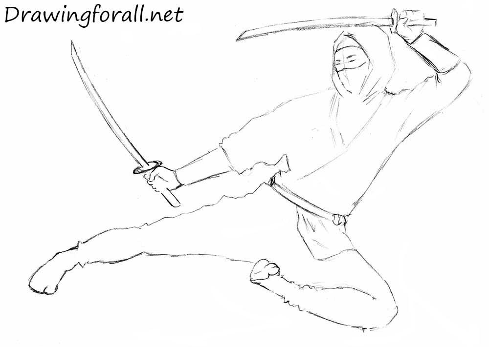 draw a ninja