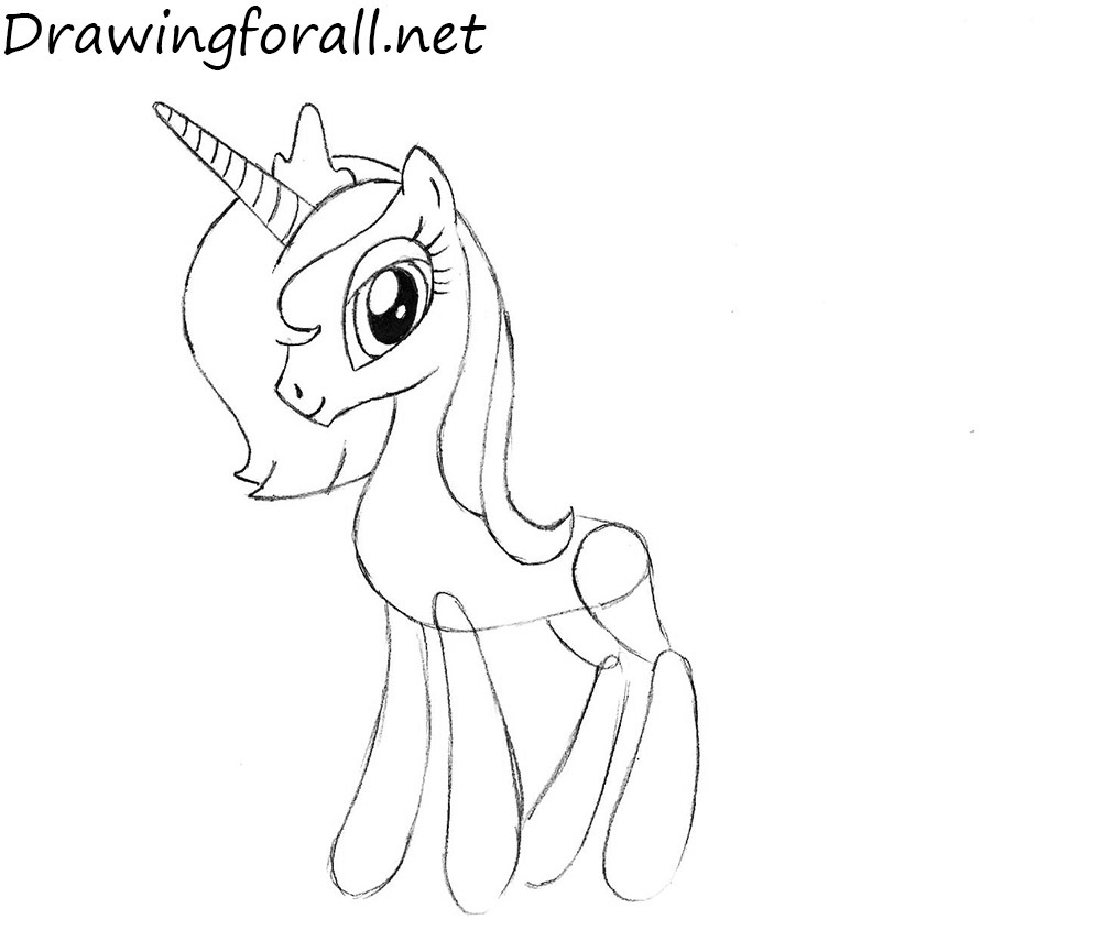 princess luna drawing