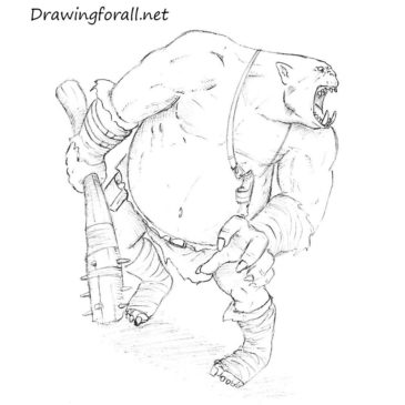How to Draw an Ogre