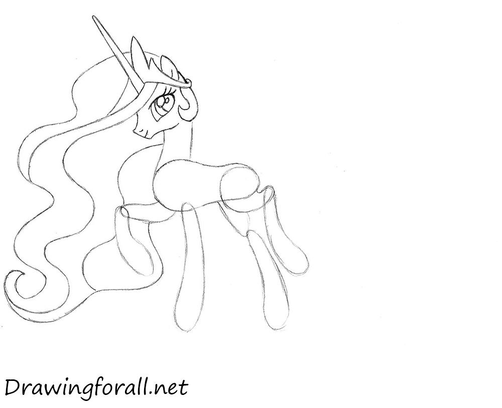 little pony celestia