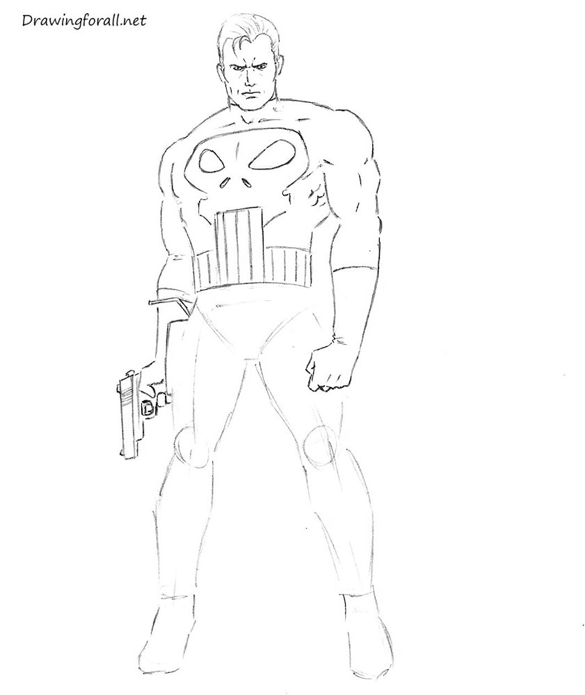 Drawing Punisher