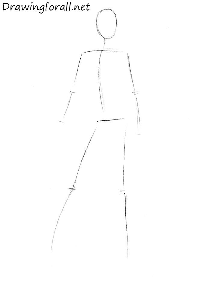 how to draw kitana from mortal kombat