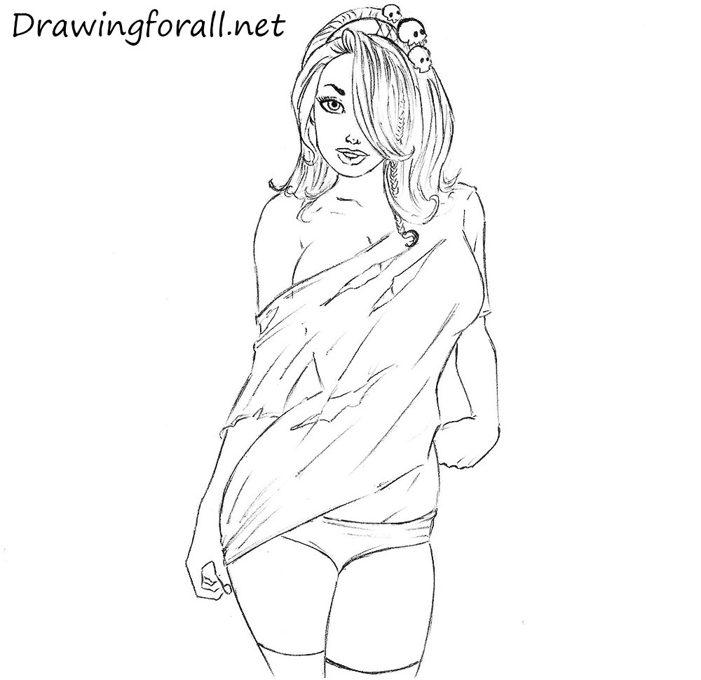 How to Draw a Beautiful Girl