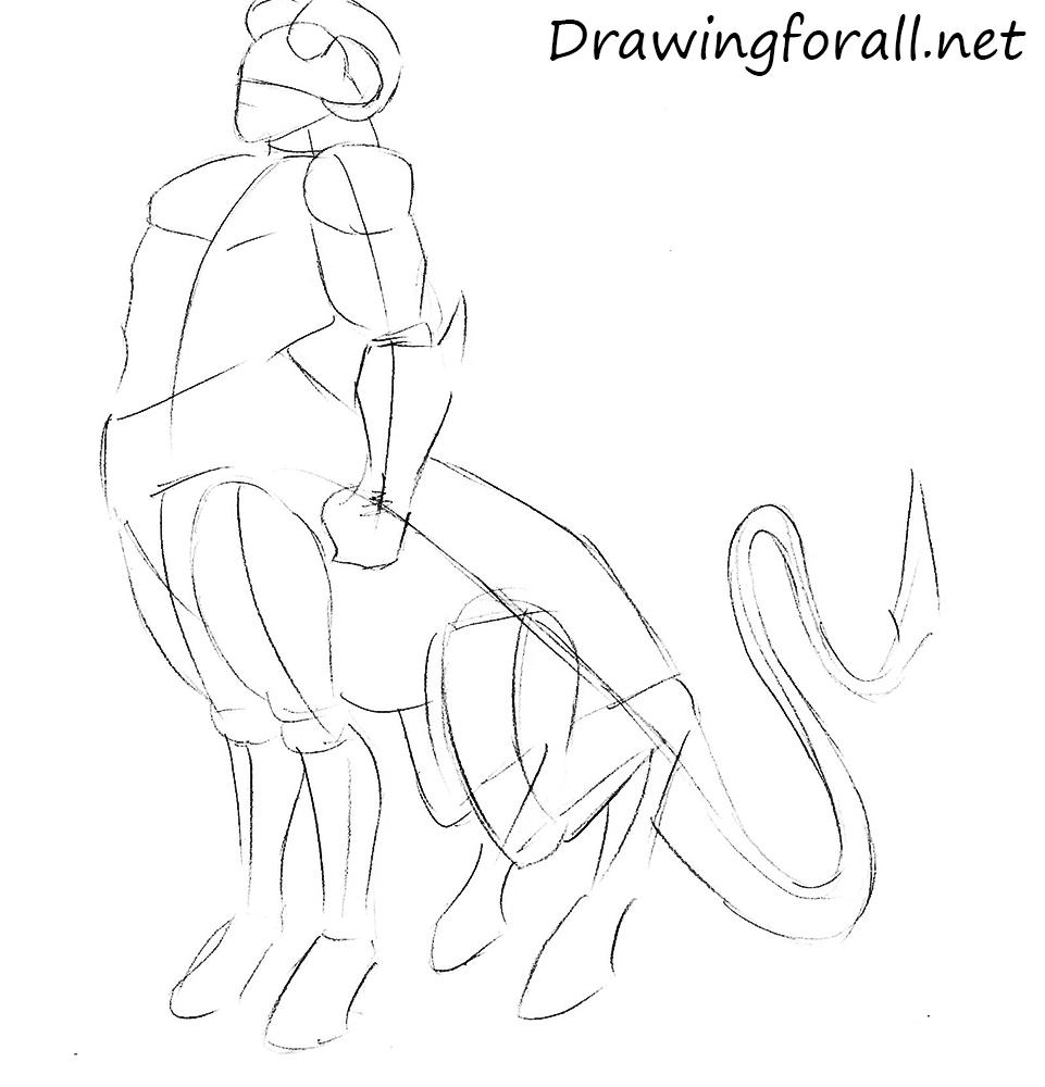 Motaro Drawing