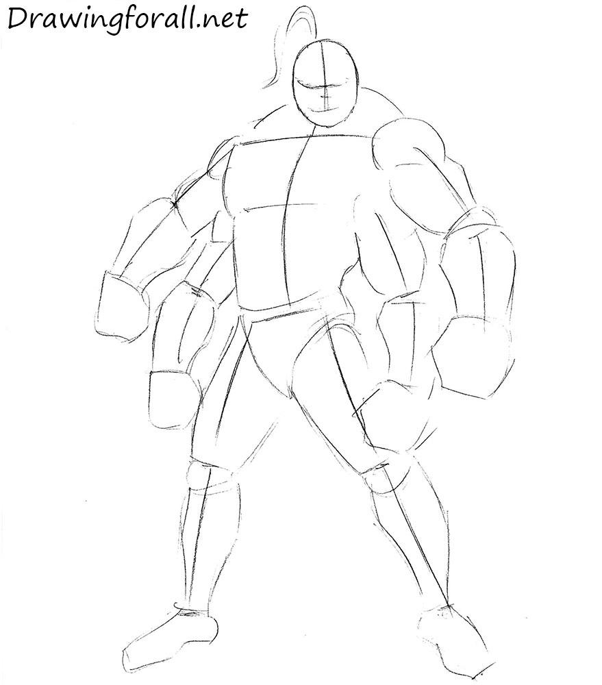 goro drawing