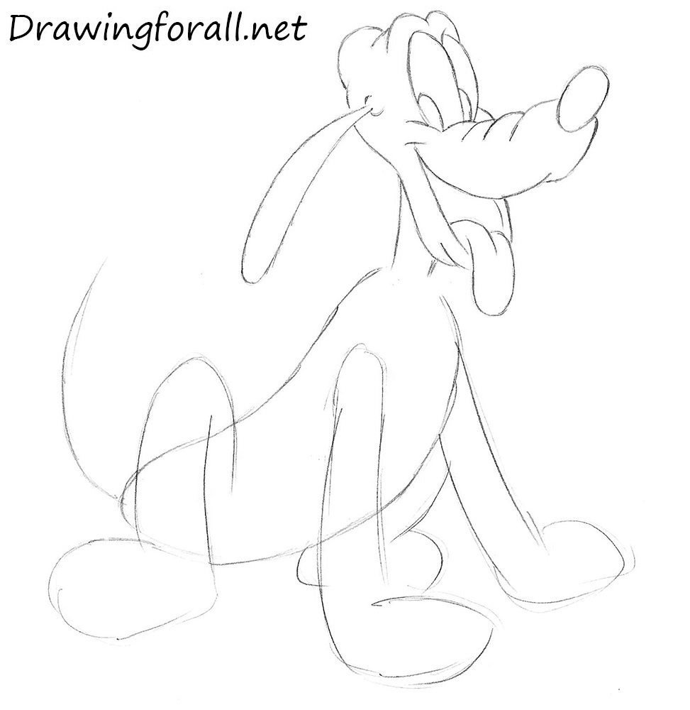 How to Draw Pluto with a pencil