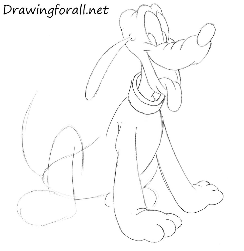 Pluto drawing lesson