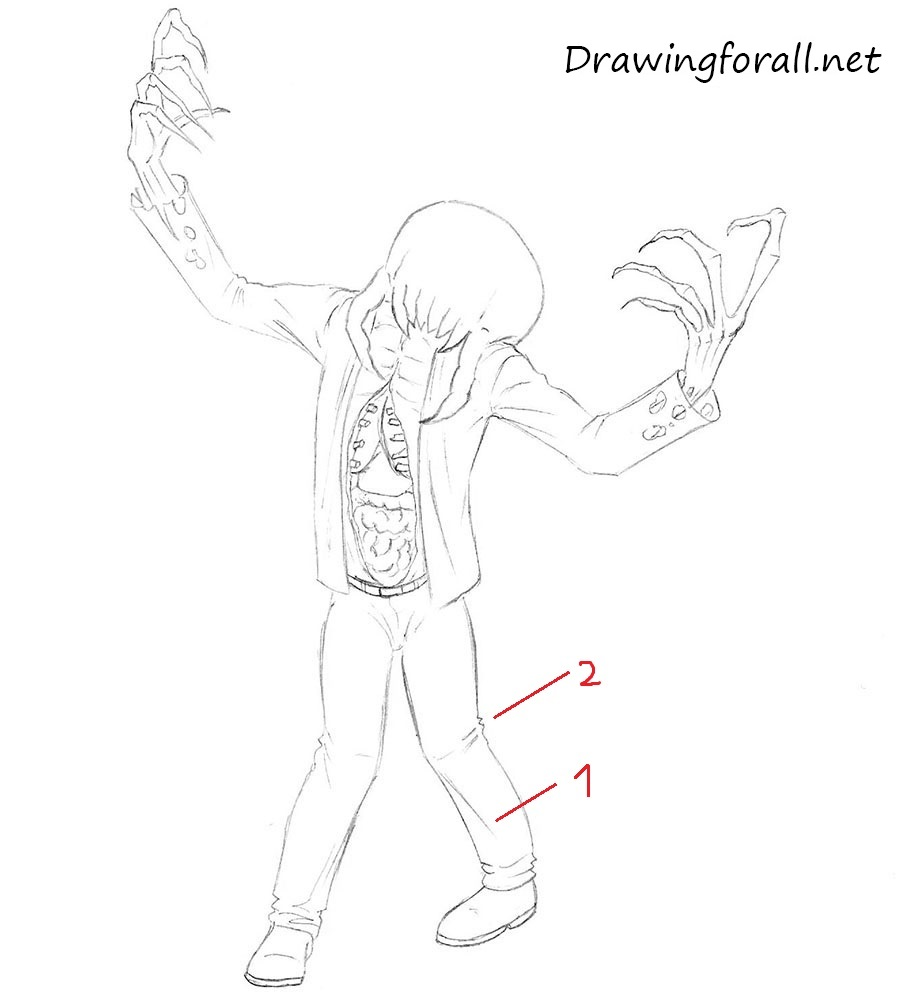 drawing zombie tutorial