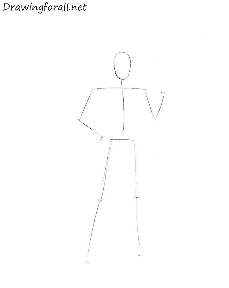 how to draw loki