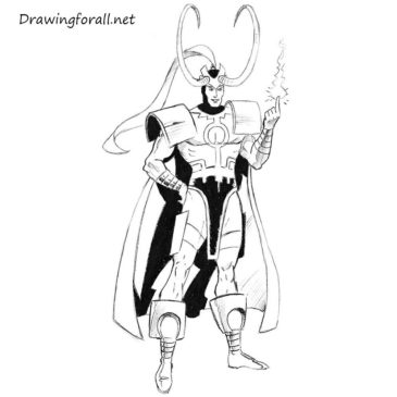 How to Draw Loki