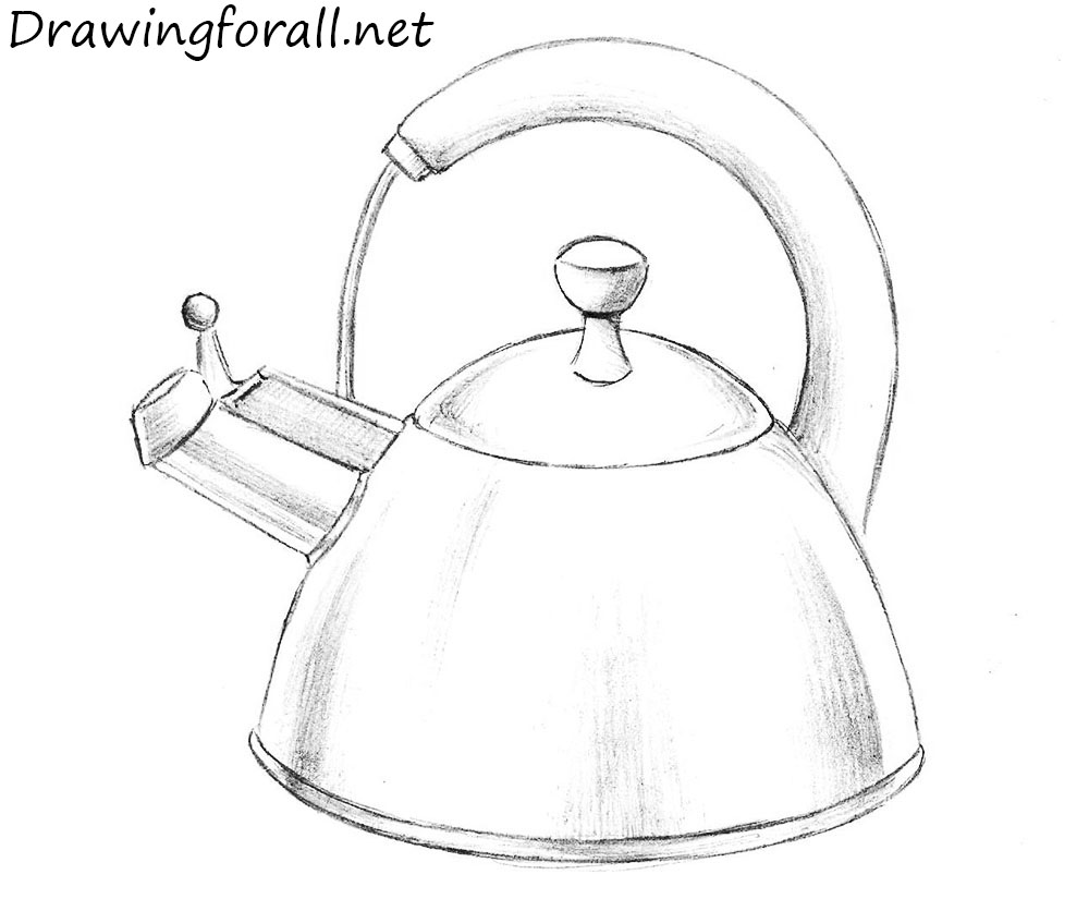 How to Draw a Kettle