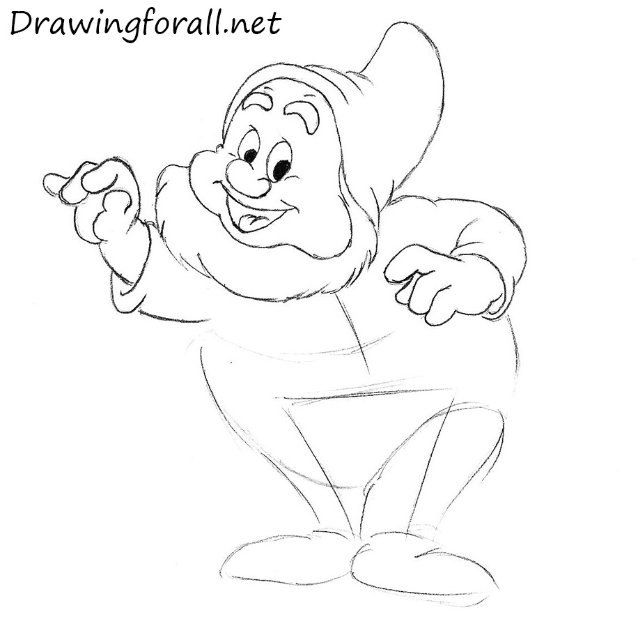 How to Draw a Gnome from cartoons